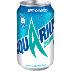 Aquarius Zero Limón 33cl