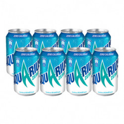 Aquarius Zero Limón Latas (Pack 8x33cl)