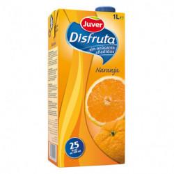Néctar Juver Disfruta Naranja Sin Azúcar 1L