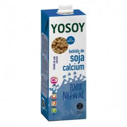 Bebida Yosoy de Soja y Calcium Ecológica +Bio 1L