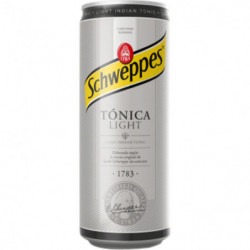 Tónica Schweppes Light Lata 33cl