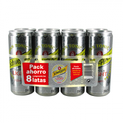 Tónica Schweppes Light Latas (Pack 8x33cl)