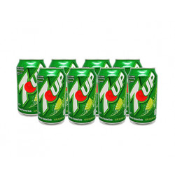 Seven Up Latas (Pack 8x33cl)