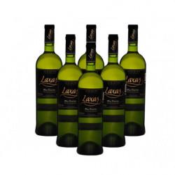 Vino Blanco Laxas Albariño Caja 6 Botellas