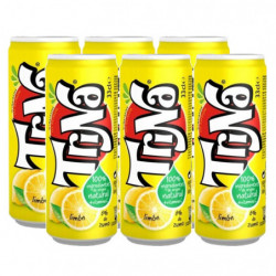 Refresco Trina Limón Latas (Pack 6x33cl)