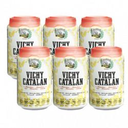 Agua Vichy Catalán Lata 33cl (Pack6 x 33cl)