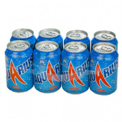 Aquarius Naranja Latas (Pack 8x33cl)