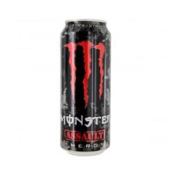 """Refresco energético Monster Assault """"Rojo"""" Lata de 50cl"""
