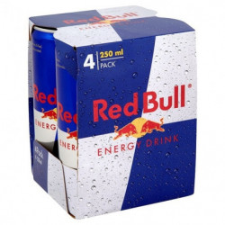 Red Bull Latas (Pack 4x25cl)
