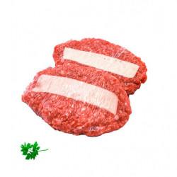 Hamburguesa de Queso 230gr sin Gluten Bandeja 2ud.