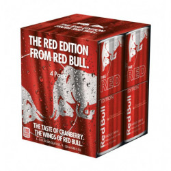 Red Bull Red Edition Latas (Pack 4x25cl)