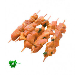Pinchos de Cerdo sin Gluten ni Lactosa Bandeja 400gr / 5ud.