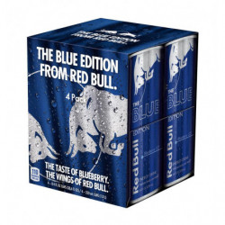 Red Bull Blue Edition Latas (Pack 4x25cl)