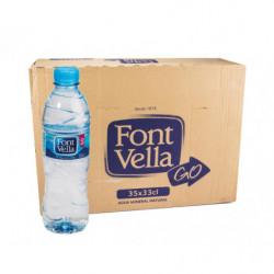 Font Vella Agua Mineral 33cl( Caja 35 Botellas)