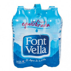 Agua Font Vella 15L (Pack6 x 1,5)