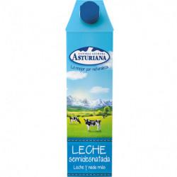 Leche Semidesnatada Central Lechera Asturiana 1L