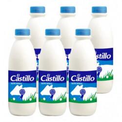 Leche El Castillo Entera Botellas (Pack6 x 15L)