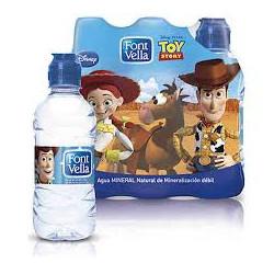 Agua Font Vella Kids 33cl (Pack6 x 33cl)
