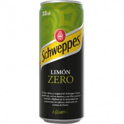 Schweppes Limón Zero 33cl Lata