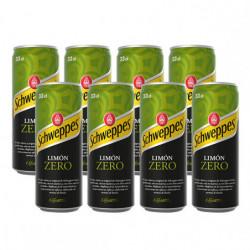 Schweppes Limón Zero (Pack8 x 33cl)
