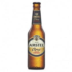 Cerveza Amstel Oro Botella 33cl