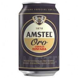Cerveza Amstel Oro Lata 33 Cl