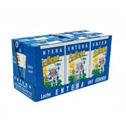 Gallega Leche UHT Entera Briks (Pack 6x1L)