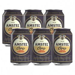 Cerveza Amstel Oro Latas (Pack6 x 33cl)