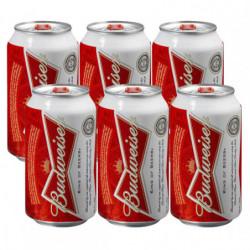 Cerveza Budweiser Lata (Pack6 x 33cl)