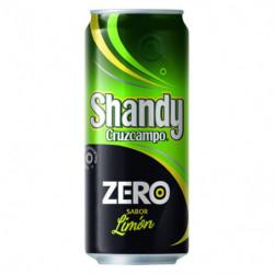 Cerveza Shandy Zero Lata 33 Cl