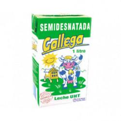 Leche Gallega UHT Semidesnatada 1L
