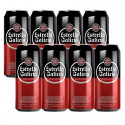 Cerveza Estrella Galicia Lata (Pack8 x 33cl) 5,5%