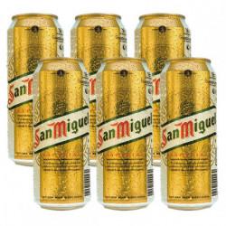 Cerveza San Miguel Lata (Pack6 x 50cl) 5,4%