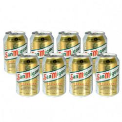 Cerveza San Miguel Lata (Pack8 x 33cl) 5,4%