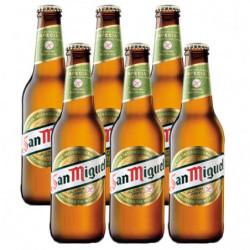 Cerveza San Miguel Sin Gluten (Pack6 x 33cl) Botellas