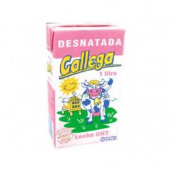 Leche UHT Desnatada Gallega 1L