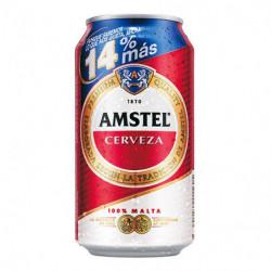 Cerveza Amstel Lata 37,5cl