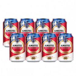 Cerveza Amstel Pack8 x 37,5cl