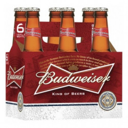 Cerveza Budweiser Botella 5º (Pack6 x 33cl)