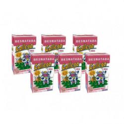 Leche UHT Desnatada Gallega Briks (Pack 6x 1L)