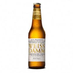 Cerveza Weiss Damm botella 33cl 5%