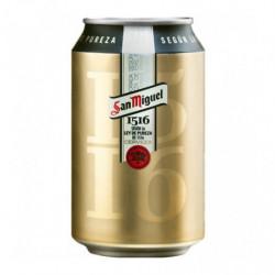 Cerveza San Miguel 1516 Lata 33cl