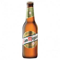 Cerveza San Miguel Sin Gluten Botella 33cl