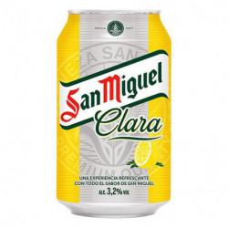 Cerveza San Miguel Clara Lata 33cl