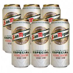 Cerveza San Miguel 50cl (Pack6 x 50cl) 5,4%