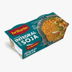 Arroz Integral con Soja Brillante Vaset (Pack2 x 125gr)