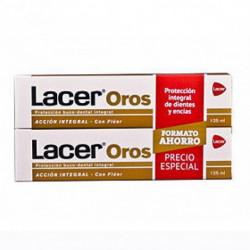 Lacer Oros Duplo Pasta 125 +125ml