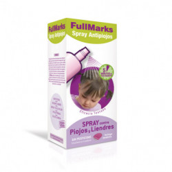 Fullmarks Antipiojos Spray 125ml + Lendrera
