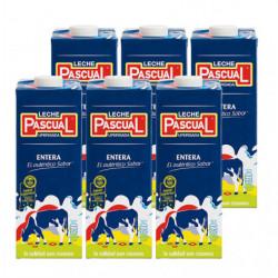 Leche Pascual Entera Briks (Pack6 x 1L)