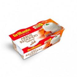 Brillante Arroz Redondo Sin Gluten (Pack 2x200g)